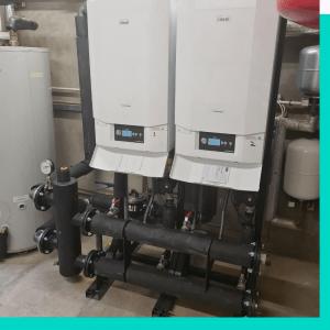 new boiler from grant